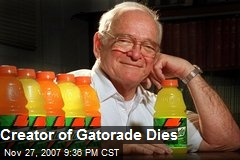 Creator of Gatorade Dies