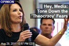Ross Douthat on Michelle Bachmann, Rick Perry: Media Should Tone Down the 'Theocracy' Fears