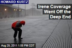 Howard Kurtz: Media Went Off the Deep End With Hurricane Irene Coverage