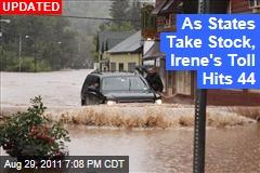 Hurricane Irene Death Toll Hits 44 as States Take Stock of Devastation