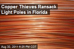 Copper Thieves Ransack Light Poles in Florida