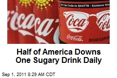 Half of America Downs One Sugary Drink Daily
