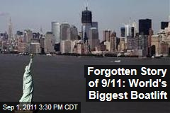 Documentary 'Boatlift' Recounts Rescue of 500,000 New Yorkers by Water on 9/11