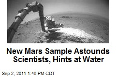 New Mars Sample Astounds Scientists, Hints at Water