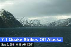 Alaska Earthquake: 7.1 Quake Hits Off Alaska