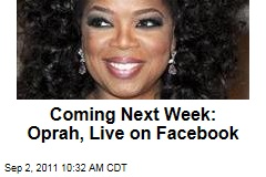Oprah Winfrey to Answer Fan Questions in Facebook Live Interview