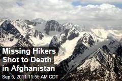 Missing German Hikers Found Shot to Death in Afghanistan