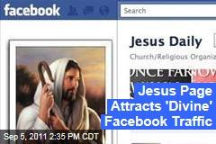 Jesus Facebook Page Generates Huge Online Traffic