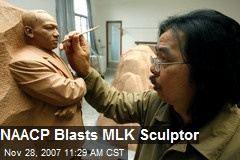 NAACP Blasts MLK Sculptor
