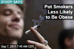 Study Finds Marijuana Users Less Likely to Be Obese