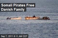 Somali Pirates Free Danish Family