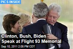 Clinton, Bush, Biden, Boehner Speak at Flight 93 Memorial