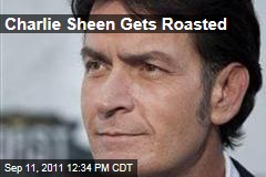 Charlie Sheen Comedy Central Roast: William Shatner, Jon Lovitz, Mike Tyson, Slash Pay Raunchy Homage