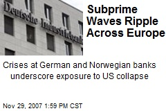 Subprime Waves Ripple Across Europe