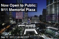 Now Open to Public: 9/11 Memorial Plaza