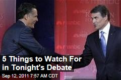 Election 2012 GOP Debate: What to Watch for Tonight