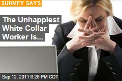 Unhappiest White Collar Worker Is Single Woman: Survey