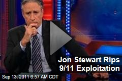 Jon Stewart Rips 9/11 Exploitation ('Daily Show' Video)