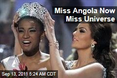 PHOTOS: Miss Angola Leila Lopes Crowned Miss Universe
