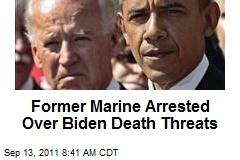 Former Marine Arrested Over Biden Death Threats