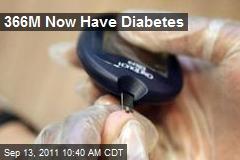 366M Now Have Diabetes