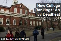 Harvard, Princeton, Yale Top US News College Rankings