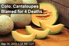 Colo. Cantaloupes Blamed for 4 Deaths