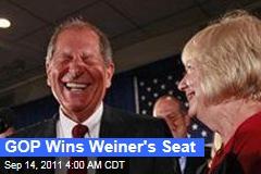 GOP's Bob Turner Wins New York's 9th Congressional District