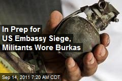 Kabul Militants Used Burkas to Smuggle Weapons