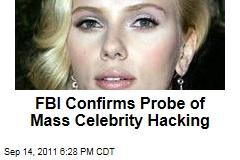 FBI Confirms Probe of Scarlett Johansson Hacking