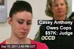 Casey Anthony Owes $97,000 in Investigation Costs Over Caylee's Disappearance: Judge Belvin Perry