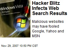 Hacker Blitz Infects Web Search Results