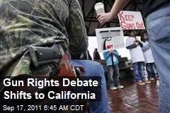 Gun Rights Debate Shifts to California