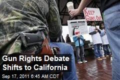 Gun Rights Debate Shifts to California