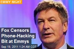 Fox Censors Phone Hack Jibe at Emmies