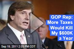 Rep. John Fleming Attacks Obama Deficit Reduction Tax Hike on MSNBC with Chris Jansing