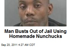Inmate Flies Coop With Homemade Nunchucks