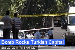 Bomb Rocks Turkish Capital