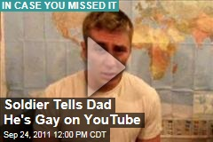 Viral Video: Gay Soldier Tells His Father That He's Gay on YouTube