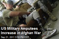 US Military Amputees Increase in Afghan War
