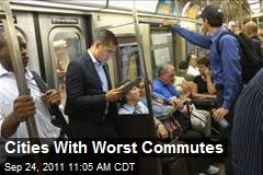 Cities With Worst Commutes