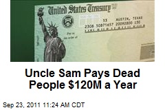 Uncle Sam Pays Dead Retirees $120M a Year