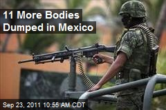 11 More Bodies Dumped in Mexico