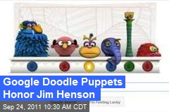 Google Doodle Puppets Honor Jim Henson