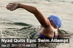 Diana Nyad Quits Epic Swim Attempt