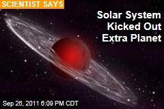 Solar System May Have Ejected Mystery Planet: Scientist