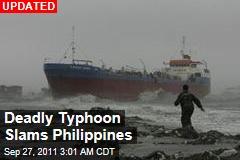 Deadly Typhoon Slams Philippines