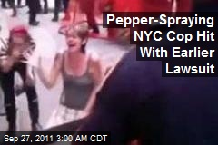 Anonymous IDs Pepper-Spray Cop, Hit With Earlier Lawsuit