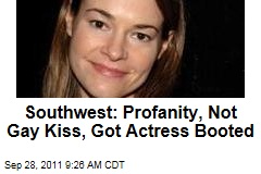 Southwest Airlines: Profanity, Not Gay Kiss, Got Leisha Hailey and Girlfriend Booted