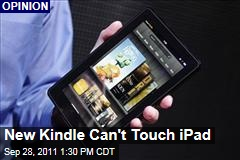 Amazon's Kindle Fire Won't Kill Apple's iPad